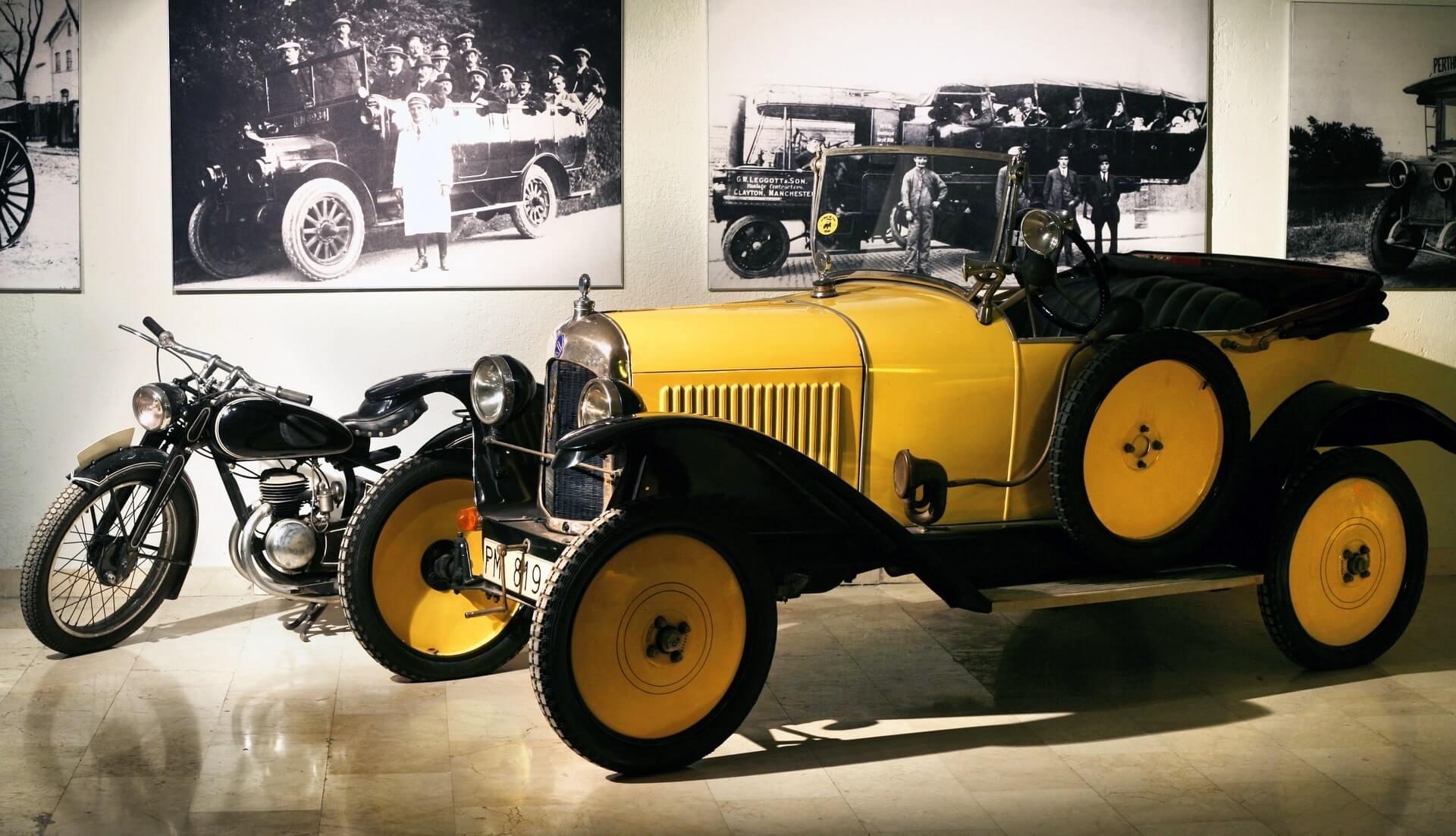 Museo de coches antiguos Madrid