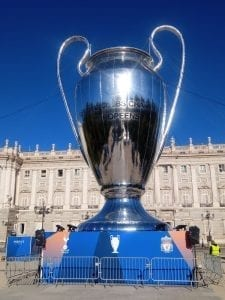 Copa de la final de la Champions League Madrid 2019