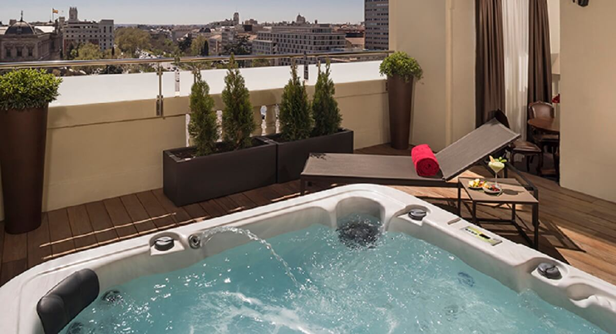 Penthouse  Gran Melia Fenix Madrid
